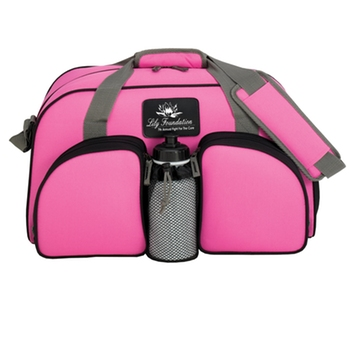 LDU07 Heavy Duty gym duffel bag organizer
