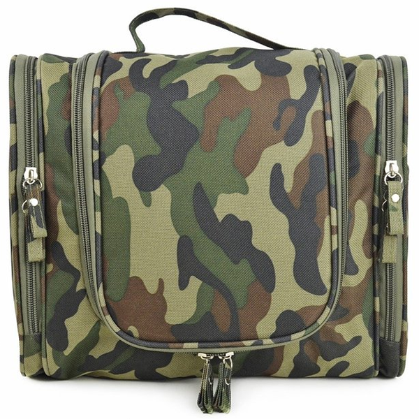 Supply military style camo toiletry bag