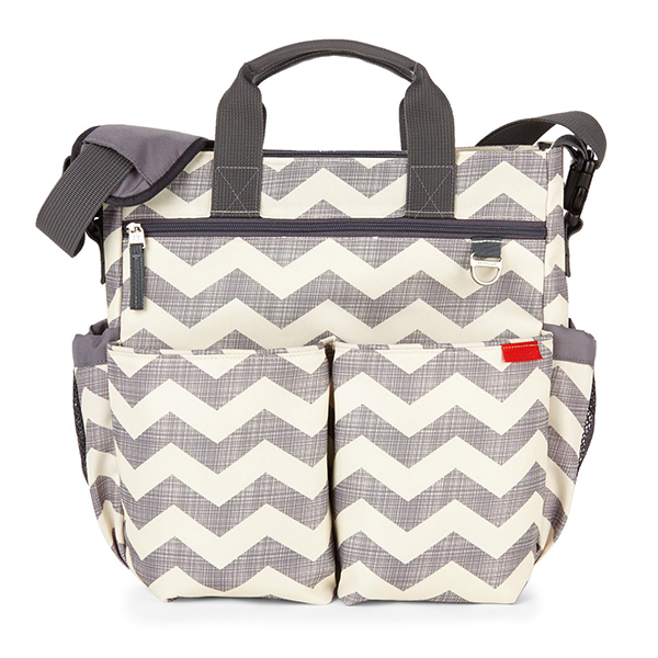 Wholesale baby diaper tote bag with chevron de