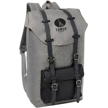 EJLP05 High Quality Heather Rucksack Computer Backpack