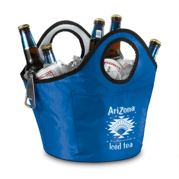 LCL31 8 Can Portable Custom Cooler Bucket