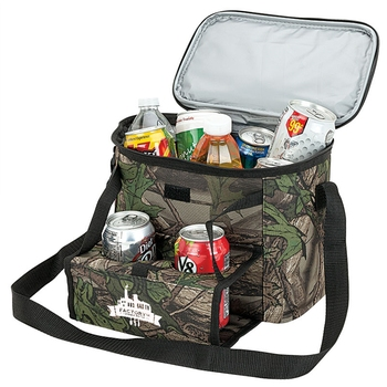 LCL32 12 Can Camouflage Custom Cooler Bags